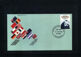 Australian Antarctic Terrritory 1983 Macquarie Island  Antarctic Treaty FDC - Australian Antarctic Territory (AAT)