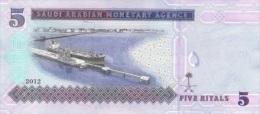 SAUDI ARABIA P. 32c 5 R 2012 UNC - Arabie Saoudite