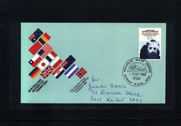 Australian Antarctic Terrritory 1983 Antarctic Treaty FDC - Australian Antarctic Territory (AAT)