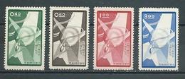 FORMOSE - Yvert   N° 275 à 278 * - 1945-... République De Chine