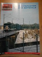 Vie Du Rail 1032 1966 Oissel  Acheres Mantes Saint Pierre Du Vauvray Danielle Darrieux  Arles  Schlucht Digne Schruns - Trenes