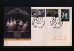 Australian Antarctic Terrritory 1993 Antarctic Willife FDC - Australian Antarctic Territory (AAT)