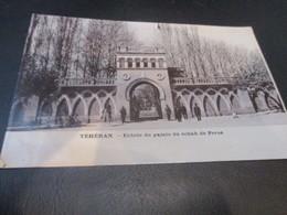 Teheran, Entree Du Palais Du Schah De Perse - Iran