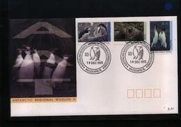 Australian Antarctic Terrritory 1993 Macquarie Island Antarctic Willife FDC - Australian Antarctic Territory (AAT)