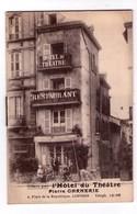 "3375 - Carnet , Agenda De "" Hotel Du Théâtre "" ( P. Garnerie ) à Limoge ( 87 ) - Reclame"