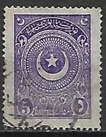 TURQUIE   -   1923  .  Y&T N° 676 Oblitéré. - 1921-... Republic