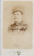 SOUVENIR ET AMITIÉ A MON CAPITAINE   H. DUPLESSIS    PHOTOGRAPHIE   GUERRE 1870 - Sin Clasificación