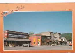 Idaho Spirit Lake Main Street Business Area 1991 - Etats-Unis