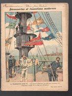 Cahier D'écolier Avec Couverture Illustrée: Découvertes Et Inventions: La Télégraphie Sans Fil (PPP9696) - Protège-cahiers