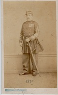 GUERRE DE 1870  PHOTOGRAPHIE   F. ORDONNEAU - Sin Clasificación