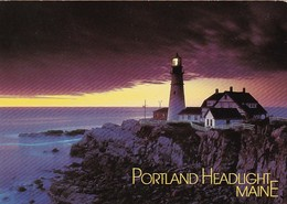 Maine Cape Elizabeth Portland Head Lighthouse - United States