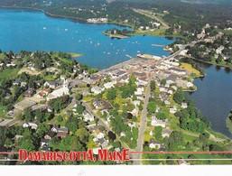Maine Damariscotta Aerial View - United States