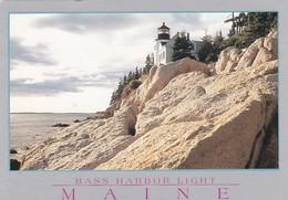 Maine Bass Harbor Head Lighthouse 1992 - United States