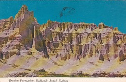 South Dakota Badlands National Park Erosion Formation 1977 - Etats-Unis