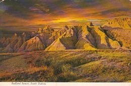 South Dakota Badlands Sunset 1971 - Etats-Unis