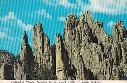 South Dakota Black Hills Cathedral Spires On Needles Drive 1978 - Etats-Unis