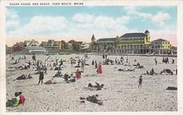 Maine York Beach Ocean House And Beach - United States