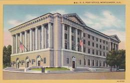 Alabama Montgomery Post Office Curteich - Montgomery