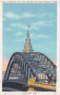 Ohio Cleveland Steel Structure High Level Bridge & Union Terminal Tower - Cleveland