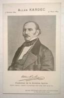 Carte Postale Ancienne / ALLAN KARDEC - Personnages Historiques