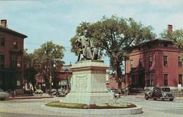 Maine Portland Longfellow Monument Longfellow Square - Portland