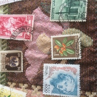 NUOVA ZELANDA I FIORI - Stamps