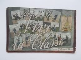 CPA Original:  Vive La Classe  ; Encore 5 Jours à Faire  , 1920 - Militaria