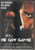 HE GOT GAME - DVDs
