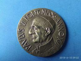 MEDAGLIE PAPALI  Paolo VI° Pontefice Massimo Anno 16° - Italy