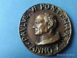 MEDAGLIE PAPALI  Paolo VI° Anno X° - Italia