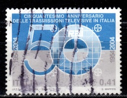 I+ Italien 2004 Mi 2943 2973 Fernsehen, Synagoge Rom - 6. 1946-.. Repubblica