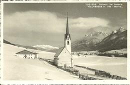 Villabassa E Moso, Niederdorf Mit Moos (Bolzano) Panorama Invernale E Chiesa (Kirche) Di Santa Maddalena - Bolzano (Bozen)