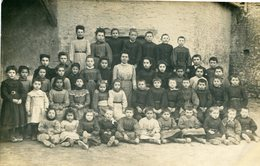 45 - Allainville  : CP-Photo - Photo De Classe ( Certains Enfants Nommés ) - Autres Communes