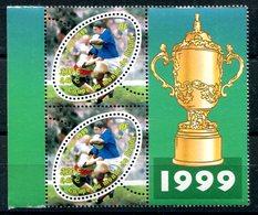 Coupe Du Monde De Rugby Yvert 3280 En Paire Avec Variété Sans F à ITVF Neuve XXX - T 758 - Curiosità: 1990-99  Nuovi