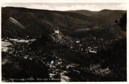 Schwarzburg / Thüringen, Blick Vom Trippstein, 1934 - Sonstige