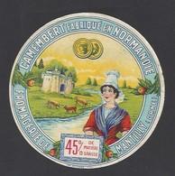 Etiquette De Fromage  Camembert  -   Fromagerie  De Mantilly    (61 ) - Fromage