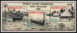 Salomoninseln 1988 - Mi-Nr. Block 24 I ** - MNH - Schiffe / Ships - Solomon Islands (1978-...)