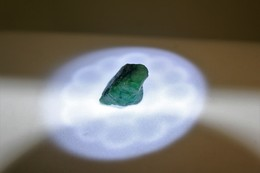 Smeraldo Grezzo - Ct. 13.75 - Certificato GGL N. 17399 - Emerald