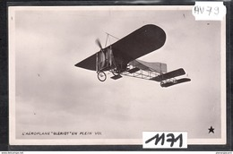 6265 AV79 AK PC CARTE PHOTO203 L AEROPLANE BLERIOT EN PLEIN VOL NC TTB - ....-1914: Precursori
