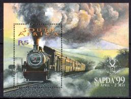 AFRIQUE DU SUD - Train Feuillet - Blocs-feuillets