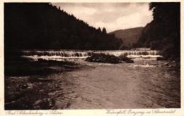 Bad Blankenburg, Wasserfall, Eingang Ins Schwarzatal, 1932 - Bad Blankenburg