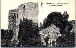 44 - HERBIGNAC -- Ruuines Du Château De Ranrouet - Herbignac