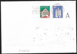 Svizzera/Switzerland/Suisse: Busta, Enveloppe, Envelope - Storia Postale
