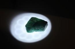 Smeraldo Grezzo - Ct. 46.45 - Certificato GGL N. 17335 - Emeraude