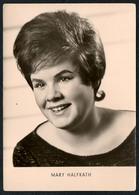 B9546 - Mary Halfkath - Autogrammkarte - Reichenbach - Brüggemann - DDR - Autographs