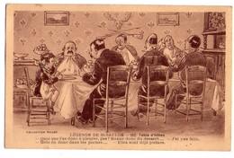 3377 - Cp Humoristique - Légende De Saint-Saulge - Table D'Hôte - Coll. Roubén°152 - - Humour