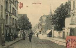 PARIS 20 Eme Arrondissement  Rue De Menilmontant  TOUT PARIS - Arrondissement: 20