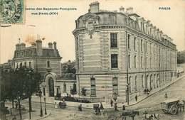PARIS 20 Eme Arrondissement   CASERNE DES SAPEURS POMPIERS  Rue Haxo - Distretto: 20