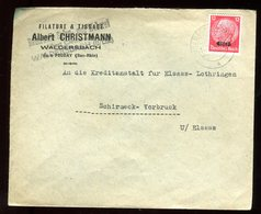 Enveloppe Commerciale De Waldersbach  Pour Schirmeck Vorbruck En 1941 - N115 - Marcofilia (sobres)