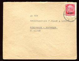 Enveloppe De Strasbourg Pour Schirmeck Vorbruck En 1940 - N116 - Marcofilia (sobres)